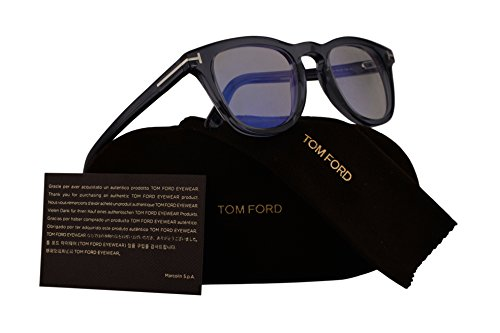 a6b7376b93b Tom Ford FT5488-B Eyeglasses 49-23-145 Transparent Blue w Demo