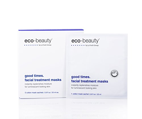 La Fresh Good Times. Facial Treatment Sheet Masks, Natural F