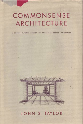 Commonsense Architecture: A Cross-Cultural Survey of Practical Design Principles