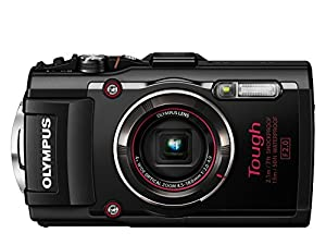 Olympus Tough TG-4 Camera - Red - International Version (No Warranty)