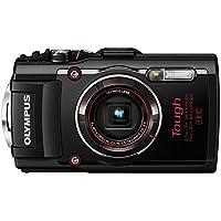 Olympus STYLUS Tough TG-4 16MP 1/2.3 BSI CMOS 4608 x 3456pixels Black - Cámara digital (Compact camera, 1/2.3, BSI CMOS, 4608 x 3456 pixels, 4608 x 3456, 3264 x 2448, 2048 x 1536, 640 x 480, 1:1, 3:2, 4:3, 16:9)