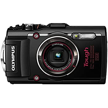 Olympus TG-4 16 MP Waterproof Digital Camera with 3-Inch LCD (Black) - International Version