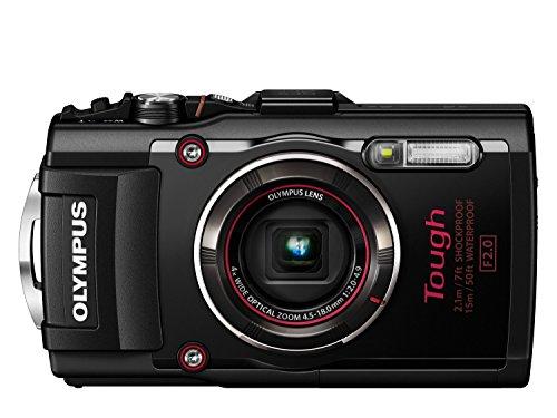 Digital Cameras OLYMPUS STYLUS TOUGH TG4 BLACK 16MPIXELS