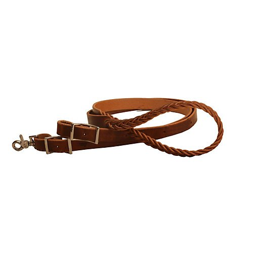 Tory Harness Leather 5-Plait Roping Rein -