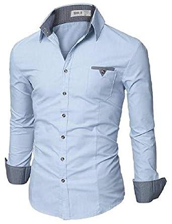 f6923576d4 Camisa Social Slim Premium Estilo Dubai  Amazon.com.br  Amazon Moda