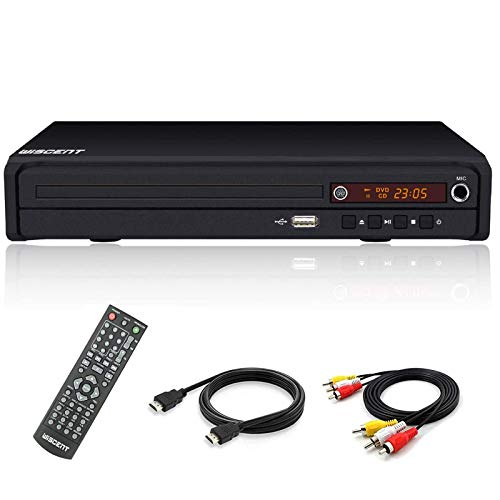 DVD Player for TV, DVD Player with HDMI & AV Output