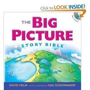 The Big Picture Story Bible (Book with Cd) [Hardcover]