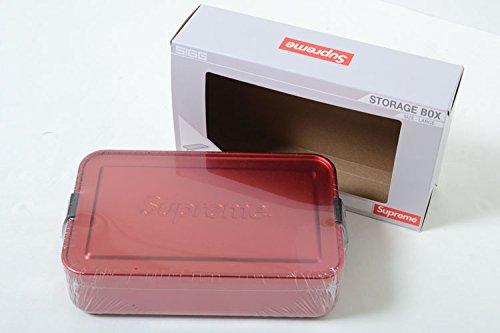 Supreme/SIGG Large Metal Box Plus シュプリーム/SIGG ラージ メタル ボックス プラス レッド B07BSGQKR5