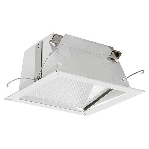 Lightolier 4X4132HU Non-IC 4-1/2 Inch x 4-1/2 Inch Frame-In Kit 120/277 Volt Square 26/32 Watt Triple Tube Calculite Matrix