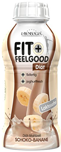 Layenberger Fit + Feelgood Diät-Shake fixfertig Schoko-Banane, 6er Pack (6 x 312 ml)