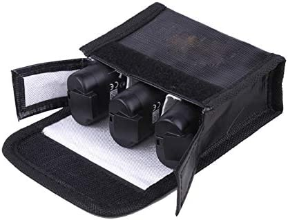 Xingsiyue Explosion Proof Guard Safety Batteries Storage Bag Case for DJI Mavic Mini Batteries
