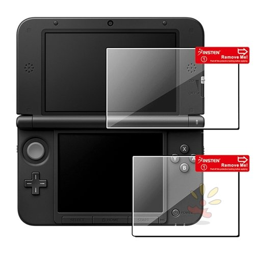 Everydaysource Compatible With Nintendo NEW 3DS XL / NEW 3DS LL / 3DS XL / 3DS LL 1 Set Top/ Bottom LCD Screen Protector , 5-Pack