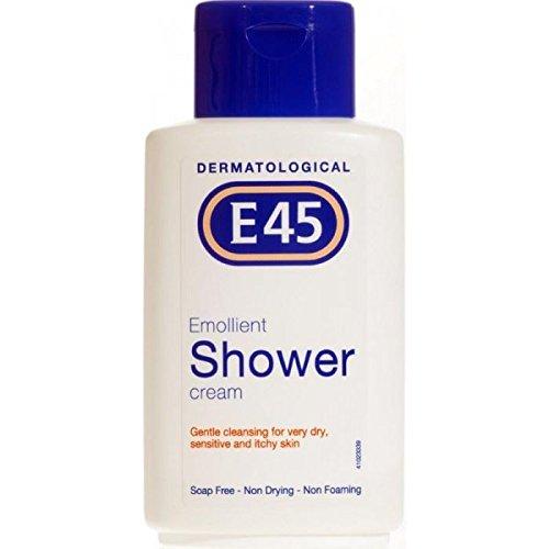 6 x E45 Dermatological Emollient Shower Cream -