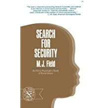 Search for Security: An Ethno-Psychiatric Study of Rural Ghana