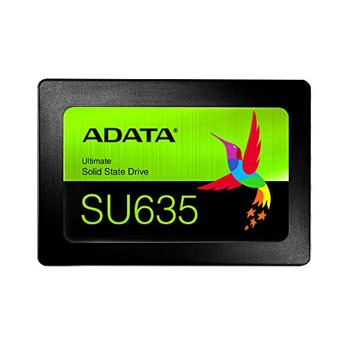 ADATA SU635 240GB 3D-NAND SATA 2.5 Inch Internal SSD - Usb Gb Inch 160 2.5
