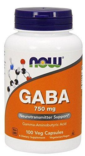 Gaba 750 mg - 100 vcaps (Pack of 5)