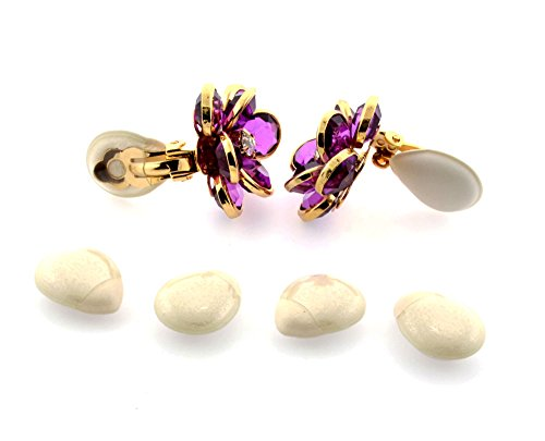Clip-on Earring Cushions- 3 Pairs Off (Clip Cushion Earrings)