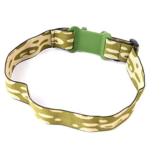 Head Strap Headband For 18650 Flashlight Headlight Lamp Torch Headlamp Pip HKNUF
