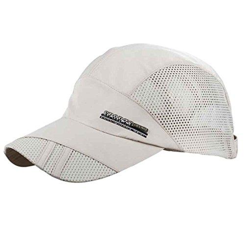 del béisbol Sombreros los rápido Gorra de Acoplamiento Verano para Respirable del Hombres Deporte del Zerama Secado EYqnpR1