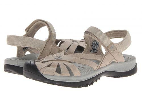 Keen(キーン) レディース 女性用 シューズ 靴 サンダル Rose Sandal - Aluminum/Neutral Gray [並行輸入品]
