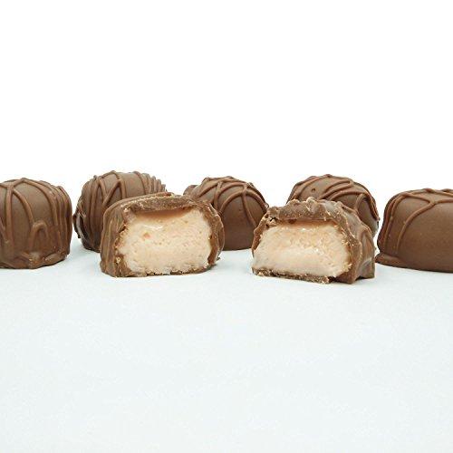 Philadelphia Candies Homemade Orange Creams, Milk Chocolate 1 Pound Gift Box
