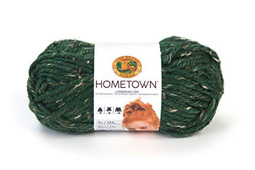 (Lion Brand Yarn Hometown Yarn, Riverdale Tweed)
