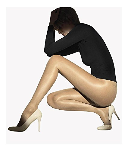 Wolford Satin Touch 20 Denier Pantyhose, Small, Caramel