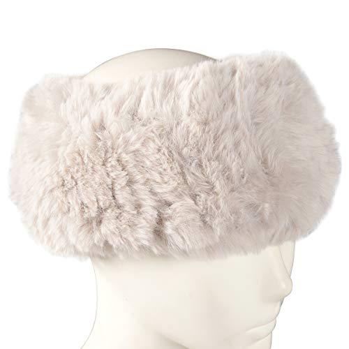 Winter Hats for Women, Women Ladies Girls Winter Warm Luxury Ski Head Ear Warmer Earmuff Scarf Neck Warmer Neckerchief, Brown