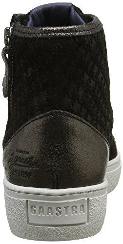 Gaastra Rio Mid Emb, Sneaker Alte Donna Nero (Nero (0999 Black))