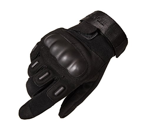 TitanOPS Full Finger and Half Finger Hard Knuckle Outdoor Gloves