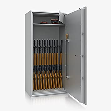 Armario para armas Arma Caja fuerte Clase 1 I, 1600 x 800 x 495 mm, 13 Arma plana: Amazon.es: Bricolaje y herramientas
