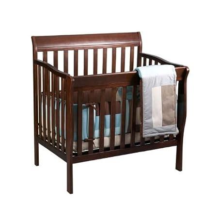 Amazoncom Delta Childrens Products Riley Mini Crib White