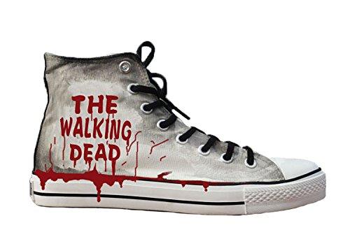 Walking scarpe scarpe Dead scarpe dipinta a mano sneakers The qadwPUw