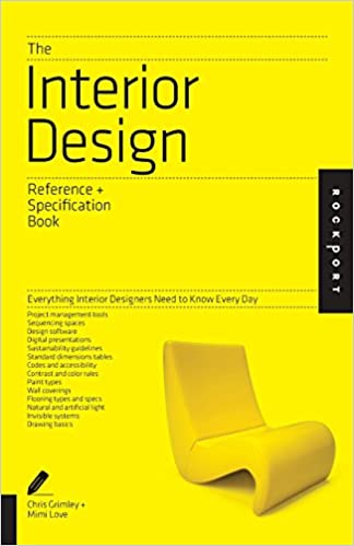 Amazoncom The Interior Design Reference Specification Book