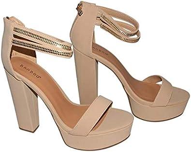 Chunky Heel Platform Sandal