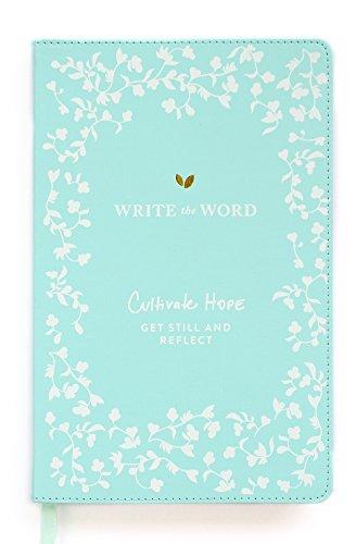 Write the Word Bible Journal: Scripture Faith Journal by Lara Casey (Light Blue)