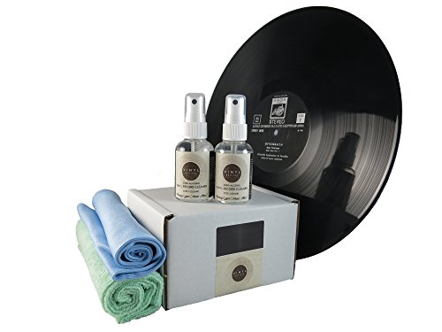Vinyl Revival 2 x 50ml - 2 Step (Alcohol Free) Professional Vinyl Record...