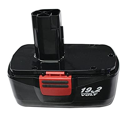 Battery for Craftsman C3 19.2Volt 2.0Ah NiCd Replace for 130279005, 1323903, 11375 11376, 315.115410, 315.11485, 315.114850, 315.114852 by Novcor