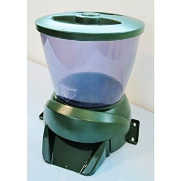 included timer back feeders care koi cotswold product autofeeder to automatic fok feeder