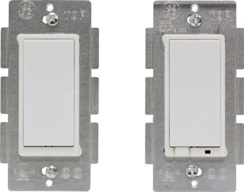 GE Z-Flood Wireless Lighting Control Three-Way On/Off Kit