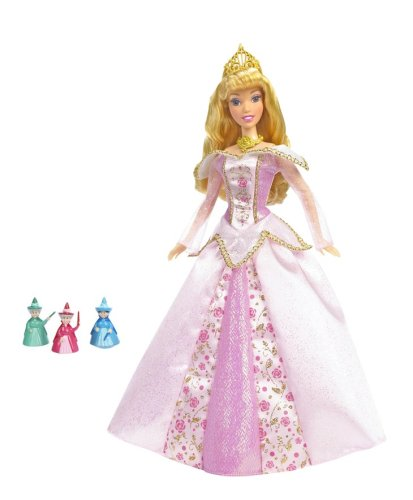 Disney Princess Magic Fairy Lights Sleeping Beauty Doll (Fairy Pink Doll)