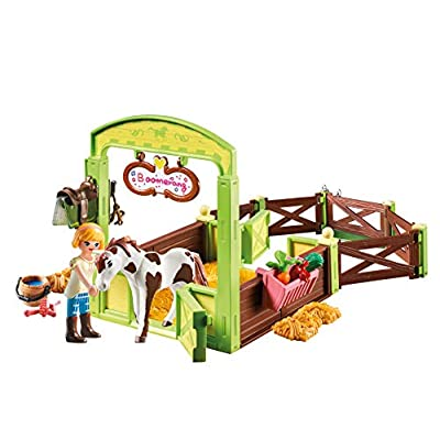 PLAYMOBIL Spirit Riding Free Abigail & Boomerang with Horse Stall: Toys & Games