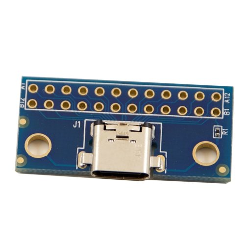 USB Type C Female Receptacle Breakout board - Breakout Boards