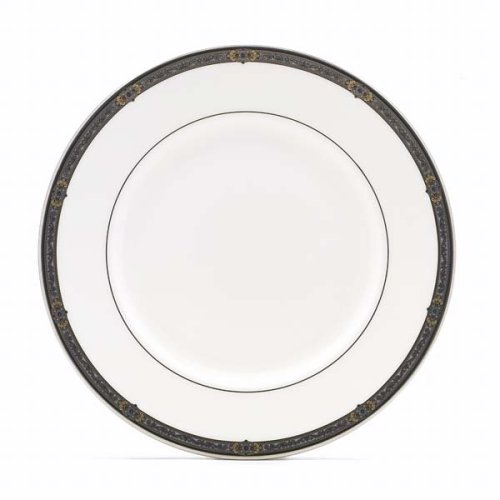 (Lenox Vintage Jewel Platinum Banded Bone China Butter Plate)