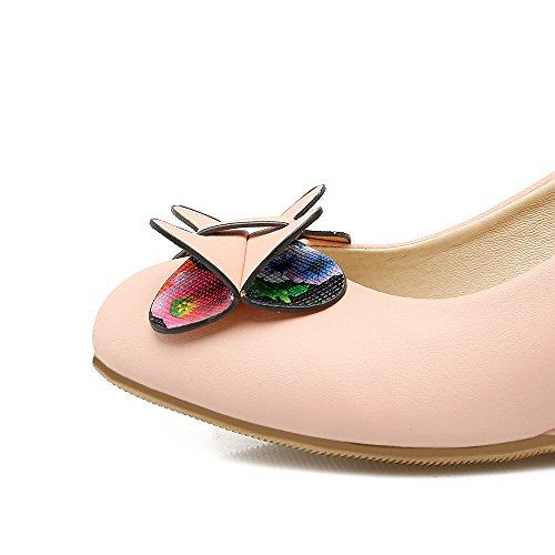 Fashion HeelHeels - Sandalias con cuña mujer Rosa