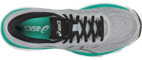 ASICS Women's Gel-Kayano 24 Running Shoe, Mid Grey/Black/Atlantis, 9 Medium US by ASICS (Image #4)