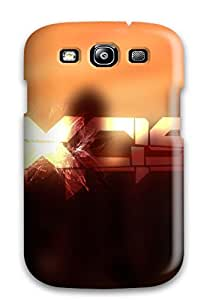 Best Unique Design Galaxy S3 Durable Tpu Case Cover Dubstep