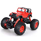 OWIKAR Pull Back Cars Alloy Diecast Truck Race Car Buggy Functions Toy Vehicles for for Kids Child Toddlers Party Favors,Die Cast Car Toy Play, Red