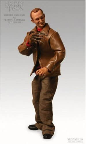Jason 12 Inch Action Figure Sideshow Nightmare Robert Englund Freddy Krueger VS
