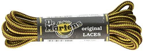 Dr. Martens 140CM Brn/Ylw Round Lace 8-10I-EA, Brown/Yellow, 140 cm M -